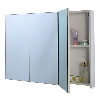 Buy Cheap Bathroom 36″ Wide Wall Mount Mirrored Medicine ...