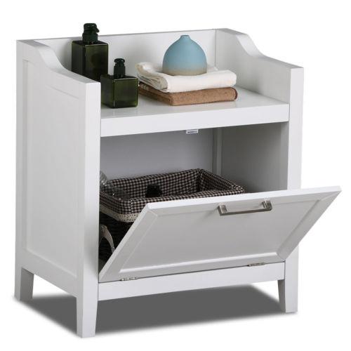 Buy Best Bathroom Floor Cabinet Storage Stand White Wood Furniture Organizer Kitchen Bath