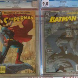 Buy Best Batman #608 2nd print CGC 9.0 and Superman #204 CGC 9.8 JIM LEE art