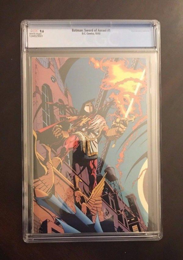 Batman: Sword of Azrael #1 - CGC 9.6 - Plus Issue #2 Raw