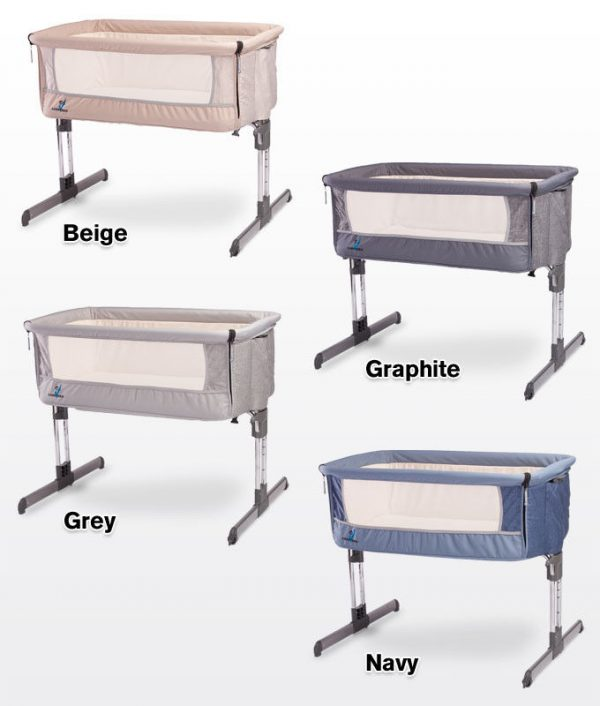 Buy Best Bedside Crib Caretero Sleep2gether  incl. Mattress Next to Me From Birth