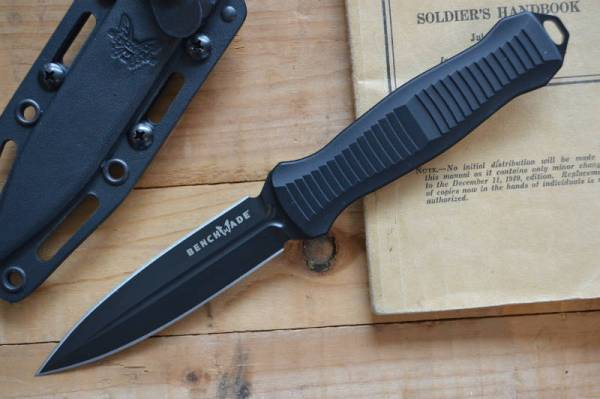Buy Best Benchmade 133BK Fixed Blade Infidel Knife with Multi Carry Sheath
