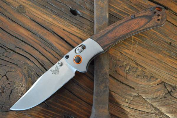 """Buy Best Benchmade 15085-2 Mini Crooked River Folding Hunting Knife """"Authorized Dealer"""""""
