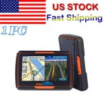 "Bluetooth Motorcycle GPS Navigation 8GB Waterproof 4.3"" Touch Screen+Free Maps"