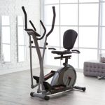 Body Rider 3-in-1 Trio Trainer - Elliptical/Recumbent Bike/Upright Bike, Silver