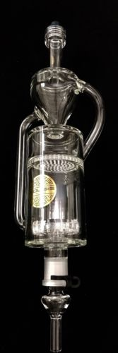 Buy Best Bouji Glass Shower To Recycler Nectar Collector Large ,made in USA priority ship