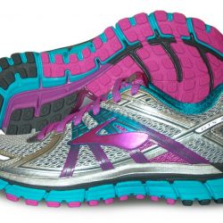 Brooks Adrenaline GTS 17 Womens, Silver/Purple/Bluebird, Multiple sizes, NEW