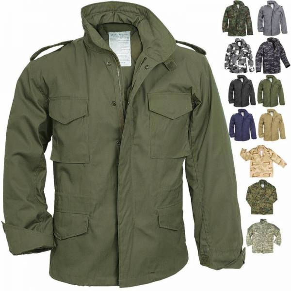 Buy Best Camo Military M-65 Field Coat Camouflage Army M65 Tactical Uniform Jacket M1965