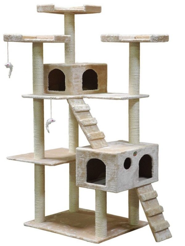Buy Best Cat Condo For Indoor Cat Big Tower Multi Giant Castle And Large Extra Tree Tall