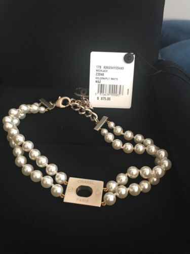 Chanel Pearl Choker Necklace NWT currently in boutiques