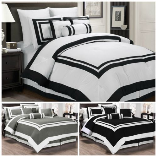 Buy Best Chezmoi Collection 7 Piece Hotel style Comforter Set Full, Queen, King, Cal King