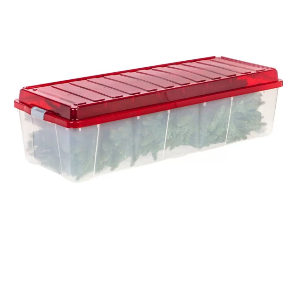 Buy Cheap Christmas Tree Plastic Stackable Storage Box