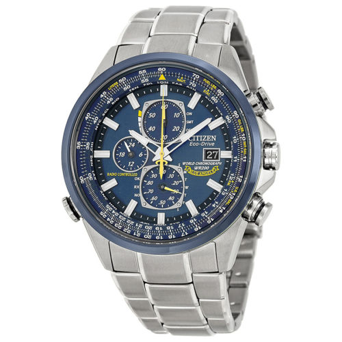 "Buy Best Citizen Men's AT8020-54L ""Blue Angels"" Stainless Steel Eco-Drive Dress Watch"