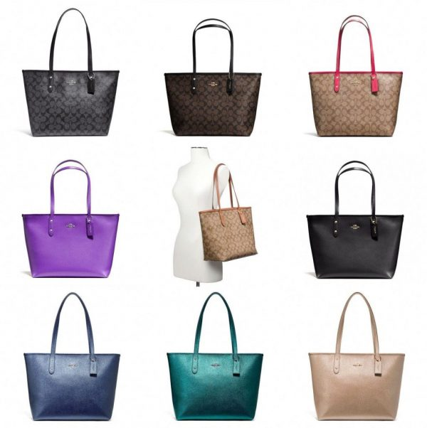 Buy Best Coach F58292 F58846 City Zip Tote Outlet Exclusive Handbag New With Tags