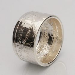 Coin Ring *Top Quality* 90% Silver Morgan Dollar - Date Inside - Sizes 7-14