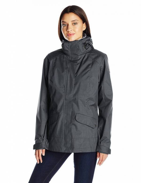 Columbia Womens Sleet to Street 3-in-1 Waterproof Insulated Ski Winter Jacket