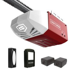 Buy Best Craftsman 1/2 HP AC Series 100 Chain Cable Drive Garage Door Opener System Rail