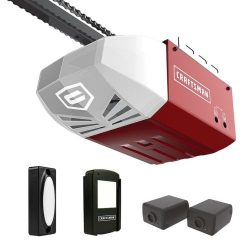 Buy Best Craftsman 1/2 HP AC Series 100 Chain Cable Drive System Garage Door Opener wRail