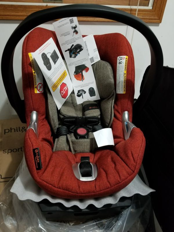 Buy Cheap Cybex Aton Q Platinum Infant Baby Car Seat