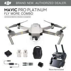 Buy Best DJI Mavic Pro PLATINUM - Fly More COMBO Drone - 4K Stabilized Camera ActiveTrack