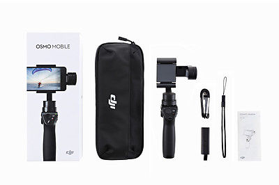 DJI OSMO Mobile Black 3-axis Gimbal System Stabilizer for Smartphones  IN STOCK