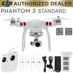 DJI Phantom 3 Standard Quadcopter Drone 2.7k Camera 3-Axis Gimbal