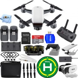 Buy Best DJI Spark Fly More Combo (Alpine White)!! EXTREME ACCESSORY BUNDLE BRAND NEW!!