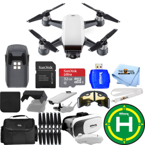 DJI Spark Quadcopter EXTREME ALL YOU NEED PROFESSIONAL BUNDLE!! BRAND NEW!!