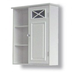 Dawson Wall Cabinet with One Door & Shelves