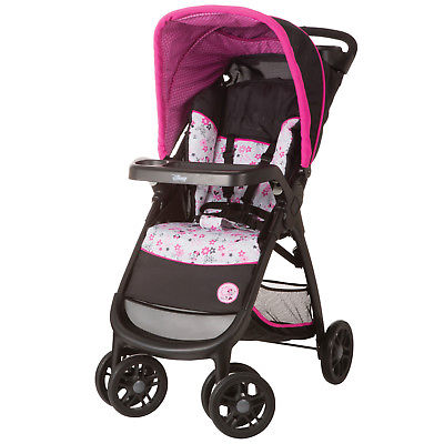 Disney Baby Minnie Mouse Amble Quad Travel System, Pink Minnie Garden
