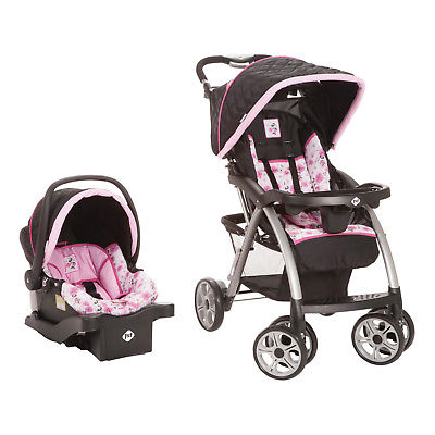 Buy Best Disney Baby Saunter Luxe Travel System with Light 'N Comfy Infant Car Seat