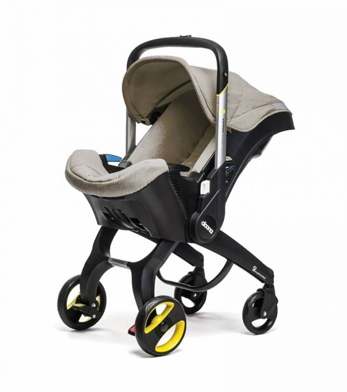 Doona Infant Baby Car Seat Travel Stroller with Latch Base ...