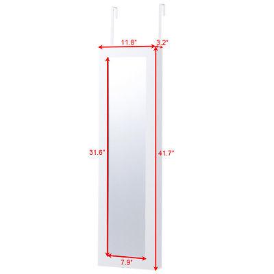 Buy Best Door Mounted Mirrored Jewelry Cabinet Armoire Storage Organizer Christmas Gift