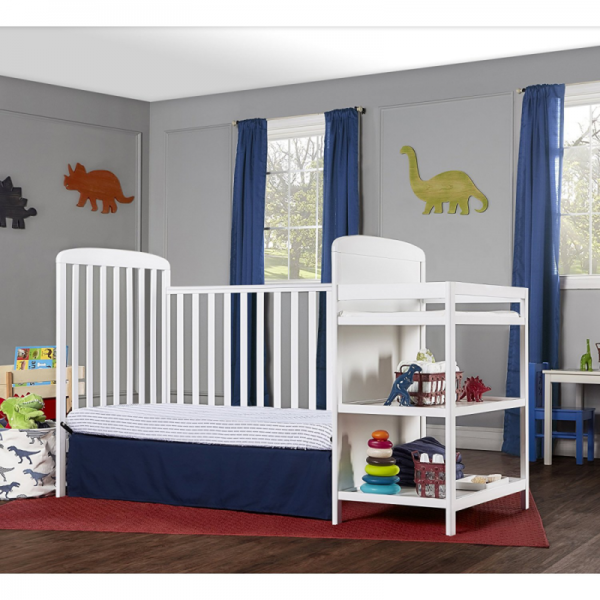 Buy Best Dream On Me, 4 in 1 Full Size Crib and Changing Table Combo, White