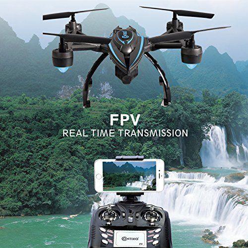 Drone WiFi FPV HD Camera Quadcopter Live Video One Key Return Altitude Hold NEW