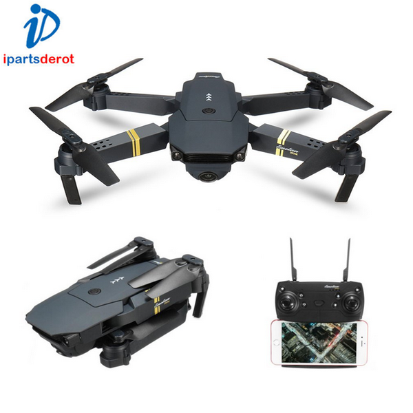 E58 2MP 720P Camera WIFI FPV Foldable Drone 2.4G 6-Axis RC Quadcopter Toys