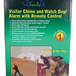 Buy Best Electronic BARKING WATCH DOG Home Burglar Safety Security Alarm System 1 REMOTE