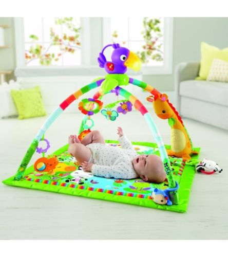 Buy Best FISHER PRICE RAINFOREST MUSIC & LIGHTS DELUXE GYM NEW IN PACKAGE DFP08