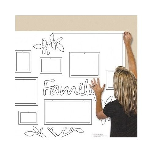 Buy Best Family Tree Frame Collage Pictures Frames Multi-Photo Mount Wall Decor Wedding