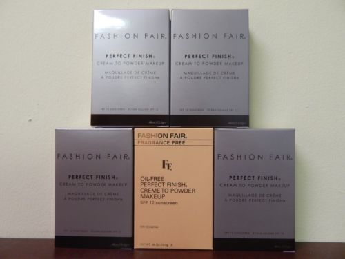 Buy Best Fashion Fair Perfect Finish Cream To Powder Makeup NEW IN BOX (Pick Your Shade)
