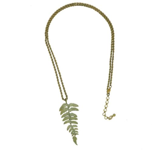 """Fern 30"""" Long Necklace by Michael Michaud 9075"""