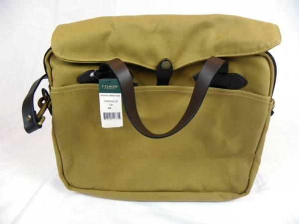 Buy Best Filson Original Briefcase 70256 Laptop Bag Tan Style 11070256