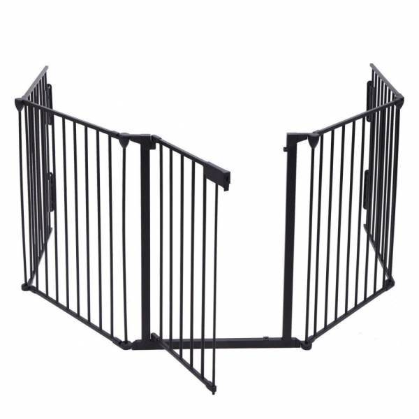 Buy Best Fireplace Fence Baby Safety Fence Hearth Gate BBQ Metal Fire Gate Pet Cat Dog