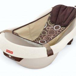 Fisher-Price Calming Water Vibration Bathing Baby Bath Tub Newborn Unisex Gift