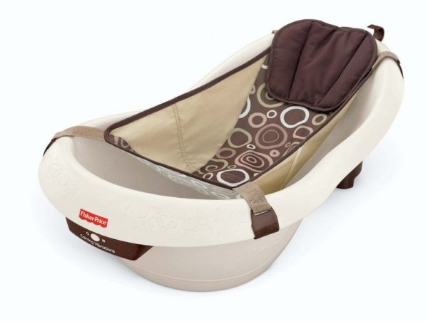 Buy Best Fisher-Price Calming Water Vibration Bathing Baby Bath Tub Newborn Unisex Gift