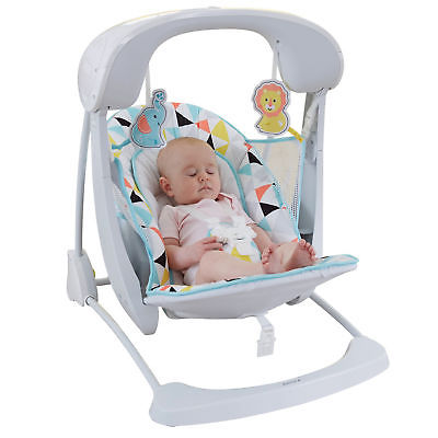 Buy Best Fisher-Price Deluxe Take-Along Swing & Seat - Windmill