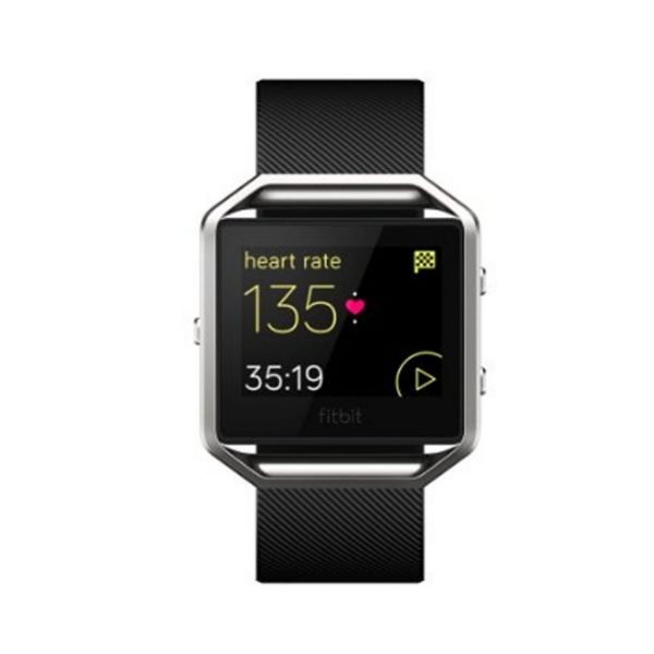 Fitbit Blaze Smart Fitness Watch Black / Silver - Large (US Version) Brand New