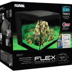 Buy Best Fluval Flex LED Freshwater Kit Black 15 Gallon