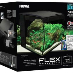 Fluval Flex LED Freshwater Kit Black 9 Gallon