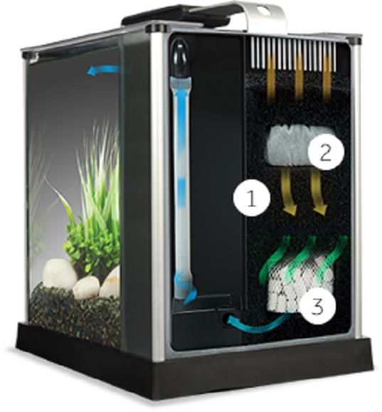 Buy Cheap Fluval Spec V Aquarium 5 gallon black Desktop ...